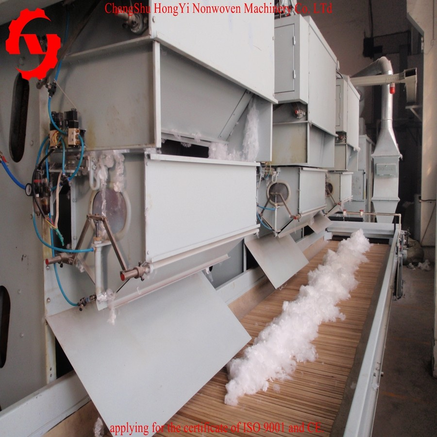 High Speed Non Woven Textile Fiber Opener Machine Capacity 200kg/H