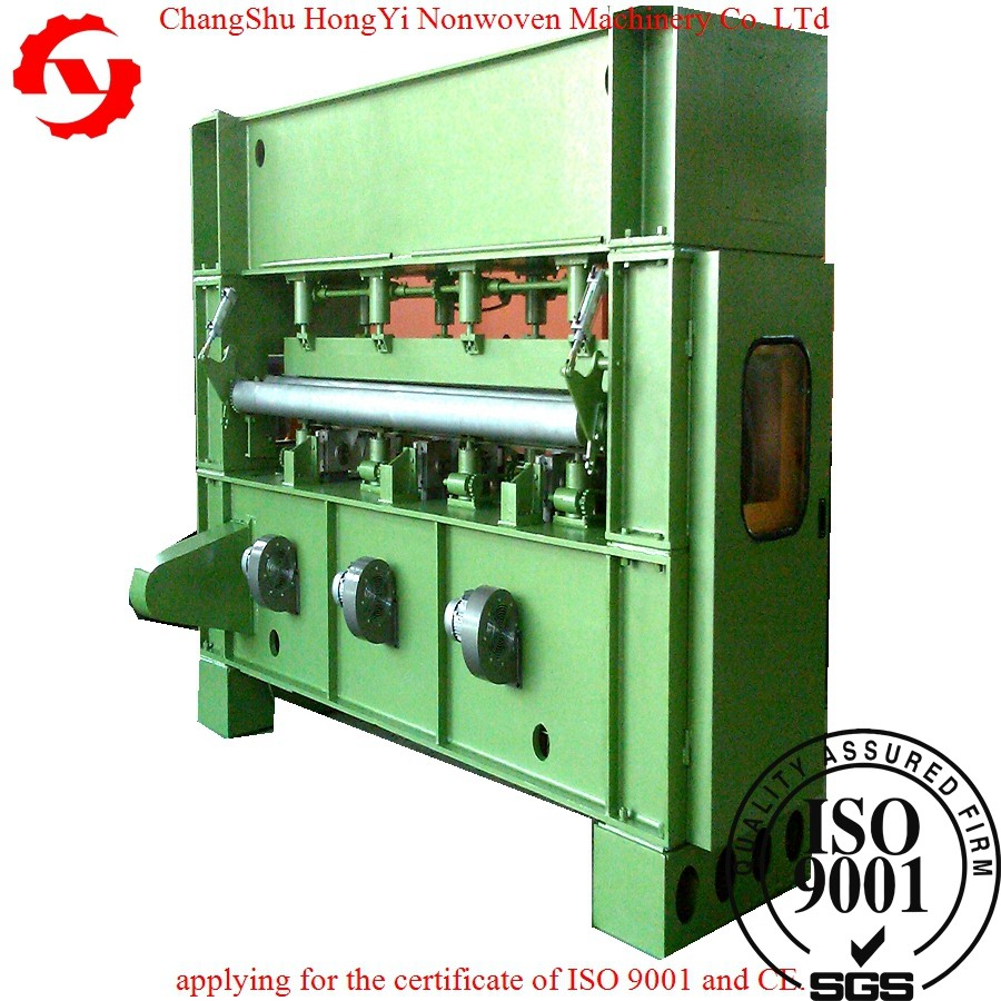 Changshu CE/ISO9001 3.5m synthetic leather needle punched felt making machine